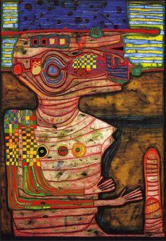 """Képtalálat a következőre: """"hundertwasser art"""" Friedensreich Hundertwasser, Architecture Classique, Art And Architecture, Architecture Biologique, Gustav Klimt, Modern Art, Contemporary Art, Art Brut, Paul Klee"""