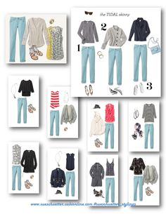 Tidal Skinny pairings for cabi spring 2017 collection. Shop 24/7 @ sueschuetter.cabionline.com.
