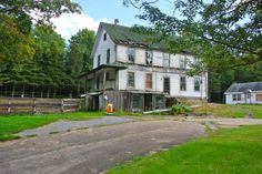 They now graze cattle up and around the back of the old Sevey Hotel in Sevey Corners, NY.