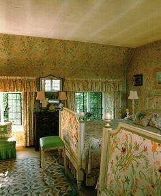 Nancy Lancaster's guest bedroom