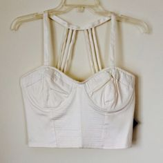 NASTY GAL BUSTIER Cute new bustier. Great condition. NO TRADES OFFERS WELCOME Nasty Gal Tops Crop Tops