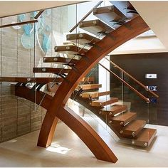 ☆Luxe Interiors + Design( :「 Have you ever seen a staircase like this?