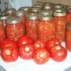 I have been making these for 25 years or better & you can either just eat them straight from the fridge or use in chili or other dishes. I use them in chili, Italian soup, goulash, eat as a cold veggie at meals when we don't have fresh ones. You could bu Stewed Tomato Recipes, Canning Stewed Tomatoes, Canning Vegetables, Veggies, Italian Stewed Tomatoes Recipe, Tomato Canning, Canning Peppers, Tomato Sauce Recipe, Spinach Recipes