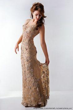 21 ideas crochet lace fashion beautiful for 2019 Form Crochet, Crochet Woman, Crochet Lace, Crochet Style, Crochet Skirts, Crochet Clothes, Knit Dress, Lace Dress, Prom Dress
