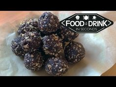 Healthy Chocolate Orange Bliss Balls - YouTube