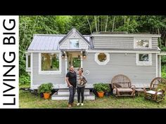 Breaking from the rat race of a materialistic society, one couple explores doing life differently in the tiny house they built (and now build for others).