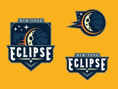 Eclipse Basketball designed by Elliott Strauss. Connect with them on Dribbble; Logo Basketball, Basketball Design, Basketball Uniforms, Basketball Hoop, Basketball Socks, Basketball Legends, St Logo, Esports Logo, Sports Team Logos