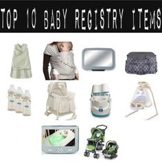 Top 10 Baby Items To Register For - Girl Gone Mom