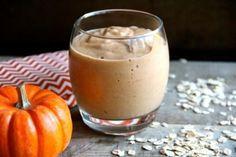 Pumpkin Spice Breakfast Smoothie. #recipe
