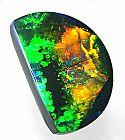 Lightning Ridge 9.62 ct natural black opal costing $35,000 Australian currency