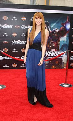 Bella Thorne V-neck Sheath Special Occasion Dress Marvel's The Avengers World Premiere Formal Dress.prom dresses,formal dresses,ball gown,homecoming dresses,party dress,evening dresses,sequin dresses,cocktail dresses,graduation dresses,formal gowns,prom gown,evening gown
