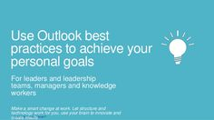 SmartEndring-ChangeSmart ™Use Outlook bestpractices to achieve yourpersonal goalsFor leaders and leadershipteams, managers...