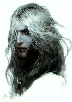 """tincek-marincek: """"My forever grumpy OC Tristan…quick late night doodle from yesterday. Drew him around 1 hour in Photoshop CC. Fantasy Rpg, Dark Fantasy Art, Medieval Fantasy, Fantasy Artwork, Fantasy World, Elves Fantasy, Fantasy Character Design, Character Concept, Character Art"""