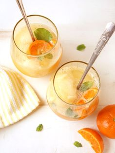 tangerine-sorbet-champagne-floats