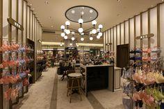 Lingerie Store   新光三越   Knott. InteriorDesign #shinkongmitsukoshi#XinyiA8-2F#新光三越#信義新天地A8館 2F#百貨店#departmentstore#インテリアデザイン#interiordesign