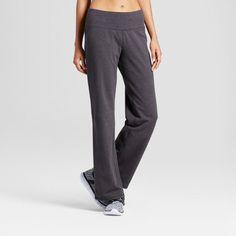Women's Cotton Spandex Core Pants - C9 Champion® Dark Heather Gray  : Target