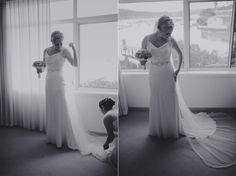 Mel putting on her dress Formal Dresses, Wedding Dresses, Wedding Photography, Fine Art, Weddings, Beautiful, Fashion, Bride Gowns, Wedding Shot