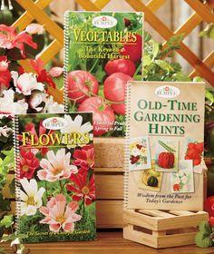 Burpee® Garden Tips 3-Book Set|The Lakeside Collection