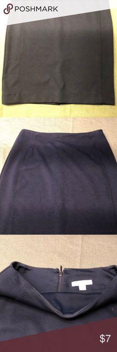 Navy blue pencil skirt Size 0 New York & company New York & Company Skirts Pencil