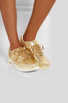 designer fashion 1c94a 3c5ce Gold Zapatos Dorados, Zapatos 2017, Zapatillas Nike, Zapatos Nike Mujer,  Zapatillas Deportivas