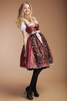 German Dirndl Dress for Women including Bavarian, Vintage and Oktoberfest Dirndl style. Our Collection of Dirndl Apron and Blouse in cheap prices Traditional Fashion, Traditional Dresses, Ethnic Fashion, Lolita Fashion, Filles Alternatives, German Costume, Oktoberfest Outfit, Dirndl Dress, German Fashion