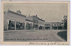 1907 Milton Junction WI Wisconsin Janesville/Edgerton/Whitewater Lake Koshkonong