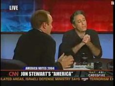 """Twelve years ago today, Jon Stewart went on CNN's Crossfire and begged: """"Stop. Stop hurting America."""" Three months later, the show was cancelled."""