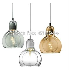 43.50$  Watch here - http://alindv.shopchina.info/go.php?t=1391893207 - Hot Sale!! 18CM Modern Brief Glass Big Bulb Pendant Lights, Lights for Home Dining Room Living Room  #SHOPPING