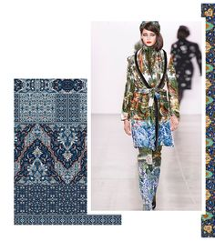 Autumn/Winter 21/22 Print Trend - Decorative Borders - Patternbank Outing Outfit, Kids Winter Fashion, Fashion 2020, Fashion Trends, Fashion Forecasting, Folk, Winter Trends, Casual Winter Outfits, Textiles