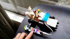 Voice controlled car using #littleBits @littlebitsters