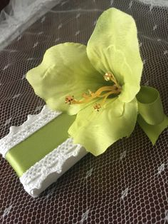 A personal favorite from my Etsy shop https://www.etsy.com/listing/452411812/wedding-favors-wedding-chocolate-green