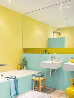 88 Best Colorful Bathrooms Images Bathroom House Decorations Toilets