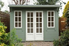 Modern Shed Plans 9833811642 Pool House Shed, Pump House, Tiny House, Wood Storage Sheds, Storage Shed Plans, Summer House Garden, Home And Garden, Green Home Offices, Small Workspace