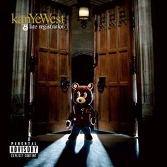 """This is the new album from rapper/producer Kanye West that features the smash singles """"Diamonds from Sierra Leone,"""" """"Gold Digger"""" feat. Jamie Foxx and """"Hear'em Say"""" feat. Adam Levine of Maroon Rap Albums, Hip Hop Albums, Best Albums, Greatest Albums, Music Albums, Rap Music, Songs Album, Rap Songs, Greatest Hits"""