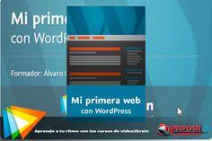 Descargar Curso Mi primera web con WordPress  video2brain [MEGA] 1 link