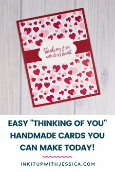 Learn how to make 9 easy handmade cards today with this fun beginner card tutorial! Card Making Ideas For Beginners, Card Making Tips, Card Making Tutorials, Card Making Techniques, Handmade Cards For Friends, Birthday Cards For Friends, Handmade Birthday Cards, Homemade Christmas Cards, Handmade Christmas