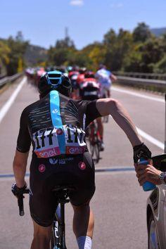 100th Tour of Italy 2017 / Stage 3  SIS Bottle / Team Sky / Salvatore PUCCIO / Food Supply / Tortoli Cagliari / Giro /