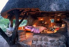 Mkhaya Game Reserve, un lodge fantastique au coeur d'une réserve exceptionnelle - #Swaziland