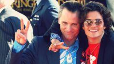Orlando Bloom & Viggo Mortensen