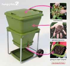 Omlet, who make the coolest pet houses ever, describe how hungry bin works...