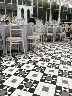 The new floor at the Horniman Conservatory