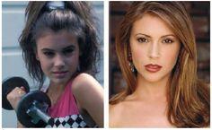 Awkward Childhood Stars Who Turned Insanely Hot ALYSSA MILANO | Club Gossip Asia Eropa Amerika Africa