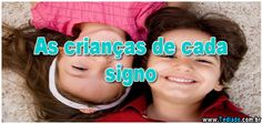 As crianças de cada signo