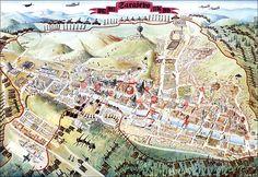 Siege of Sarajevo Map