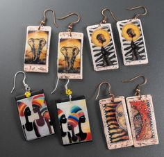 African Earrings1   Flickr - Photo Sharing!