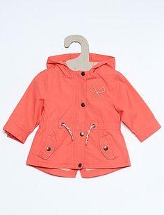 Parka en coton avec ceinture Bébé fille à 18,00€ - Découvrez nos collections mode à petits prix dans notre rayon Manteau, blouson.