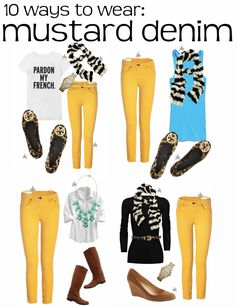 Color Me Courtney: 10 pieces >> 100 outfits!