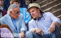 New Amazing Spider-Man 2 images give us some great behind-the-scene looks, while revealing some incredible shots of Dane DeHaan as the Green Goblin. Amazing Spiderman, Spider Man 2, Gwen Stacy, Green Goblin, Stan Lee, On Set, Marvel Dc, Actors, Celebrities