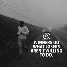 If you want to win than do what the losers aren't willing to do! #success. #quotes #rich #wealth #prosperity #cash to achieve #passion #dreams #goals #entrepreneur. #Get your #6figures #income #secret http://wealthyguru.com