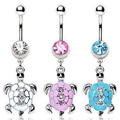 316L Surgical Steel Navel Ring with Turtle Shaped Dangle;Clear;Sold individually body jewelry,http://www.amazon.com/dp/B00BCQ5TM0/ref=cm_sw_r_pi_dp_gH0IrbD87E984BB0